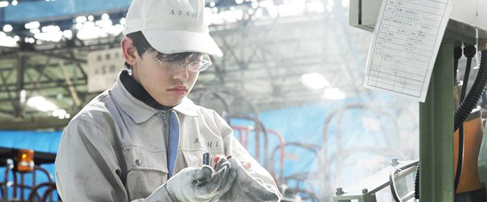 確実かつ柔軟な一貫生産体制を実現する工場・設備